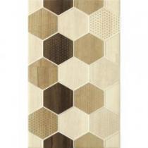 Mosa cream geo cubes 25x40 inserto