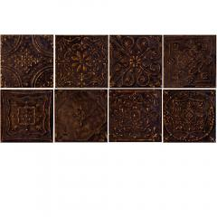 Tinta brown 14,8x14,8 dekor