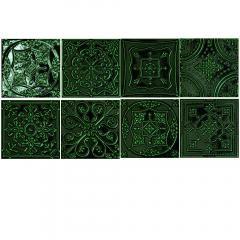Tinta green 14,8x14,8 dekor