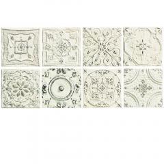 Tinta white 14,8x14,8 dekor