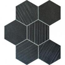 Horizon hex black 28,9x22,1 mozaik