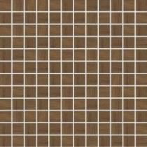 LOFT BROWN WOOD PRESSED MOSAIC 29,8x29,8
